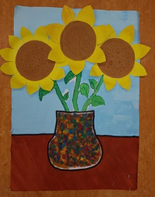 """Sonnenblumen"" Ashley Kl.6a"